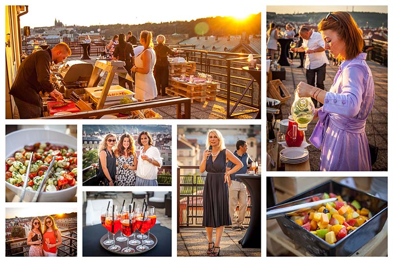 CPI – rooftop party