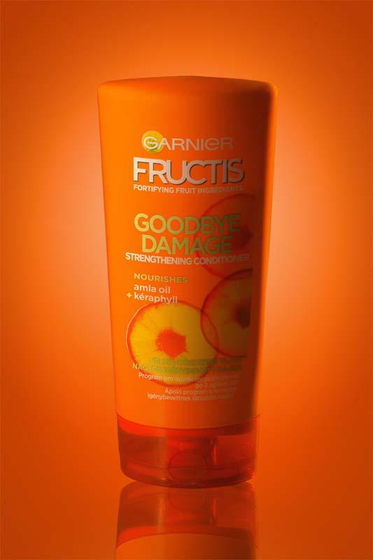 oranžový šampon